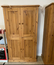 2 x Solid Wood, Handmade Cupboards