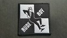 MOD SKA SCOOTER SEW ON / IRON ON PATCH:- PATCH No 1245 NAME TO FOLLOW