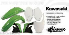 Kit plastiques UFO  Kawasaki KX250F 08 KXF 250 F  2008 -Couleur Origine
