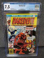 Daredevil #131, CGC, 7.5/VF-, Origin & 1st App New Bullseye