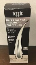 Toppik Women's Hair Regrowth Treatment - 60mL Bottle New Free Shipping