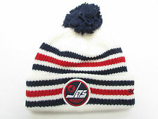 WINNIPEG JETS 2016 NHL HERITAGE CLASSIC REEBOK CUFFED POM KNIT HAT TOQUE