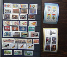 South Africa 1984 1992 Commemorative issues Medals Paintings Flowers Birds MNH