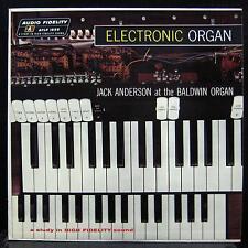 JACK ANDERSON QUINTET electronic organ LP VG+ AFLP-1856 Vinyl Mono Record