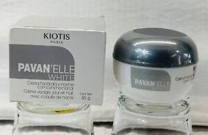 KIOTIS PARIS PAVAN'ELLE WHITE FACE CREAM FOR DAY/NIGHT WITH NACRE SHELL CREMA