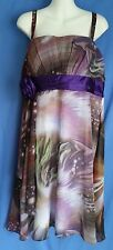 Women's Juniors Ever-Pretty Dress Size 2XL Formal Party Cosmic New