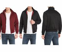 Classic 1970's Harrington Bomber jacket/Coat, Black, Beige, Burgundy, Green,Navy
