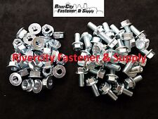 (32) M12-1.25 x 25 or 12mm x 25mm J.I.S. Head Hex Flange Bolts & Nuts M12x25