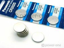 10x PANASONIC CR2025 qualitäts Markenbatterien! CR 2025 ø20x2,5mm