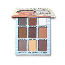 Nine color eye shadow The Balm Meet Matt(e) Trimony. Eye Shadow Palette