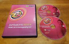 Zumbatomic Review (DVD & CD) music and choreography Zumba fitness exercise