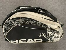 Head Racquetball Bag ( Paddle Racketball Backpack Pack Racket Holder Skull Tour)