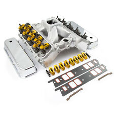 Chevy BBC 454 Solid FT Cylinder Head Top End Engine Combo Kit