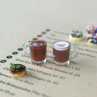 1/12 Dollhouse Miniature Accessories decoration Mini coffee Cup Drink Model  TP