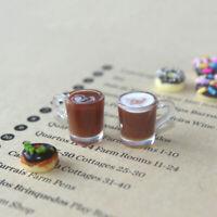 1/12 Dollhouse Miniature Accessories decoration Mini coffee Cup Drink Model  TP