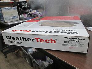 NOB WeatherTech Black 2nd Row Floor Liner 2015 Lincoln MKC 444593