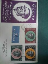 Ghana stamps. FDC.