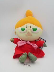 "Little My Moomin B2708 Banpresto 1995 Taffeta Plush 8"" TAG Toy Doll japan"