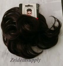 MIA FLUFFY HAIR SYNTHETIC HAIR PONYWRAP DARK BROWN NEW