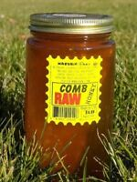 RAW HONEY COMB 1LB 100% PURE UNFILTERED USA HONEY Combs are smaller. Great price
