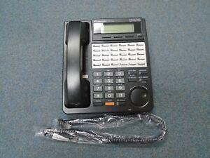 Panasonic KX-T7453 B 24 Button Digital DISPLAY Speaker Telephone BLK KX-TDA50 #B