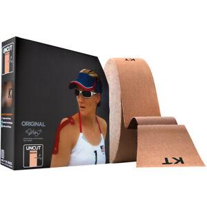 """KT Tape Cotton Jumbo 10"""" Precut Kinesiology Sports Roll - 150 Strips - Beige"""