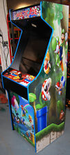 Mario Themed Multicade Arcade Cabinet Lots of Games! Simpsons XMen TNMT 3,000