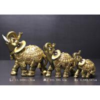 Feng Shui Elefanten Statuen Figuren mit Strass Glück Reichtum und Vermögen