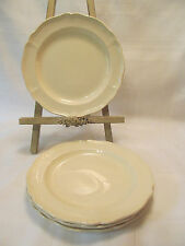 Wedgwood Etruia England QUEENS PLAIN 4 Bread & Butter Plates