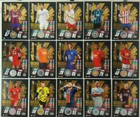 2020/21 Match Attax UEFA Champions - Golden Goalscorers Shiny Sub-Set 15 cards
