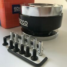 Universal Steering Wheel Ball Quick Release Adapter Boss Kit Hub Snap Off Black