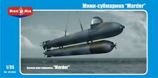 1/35 German mini-submarine 'Marder' MikroMir 35-002 Model kit