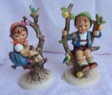 Hummel Apple Tree Girl & Boy Figurines