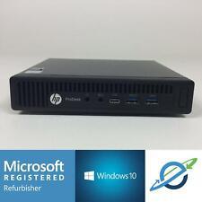 HP PRODESK 600 G2 MINI Intel Core i5-6500T 2.50GHz 8GB 128GB SSD Windows 10 Pro