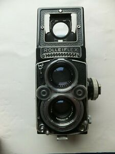 Rollei, Rolleiflex TLC with Carl Zeiss Planar 1:3:5 f = 75mm lens *Just Serviced