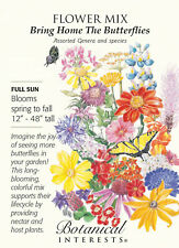 Bring Home the Butterflies Flower Seed Mix - 3.5 grams