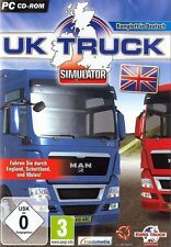 UK TRUCK SIMULATOR-camion camion Simulator Per PC Nuovo/Scatola Originale