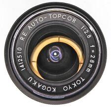 Topcon Black RE Auto 28mm f2.8  #1412510