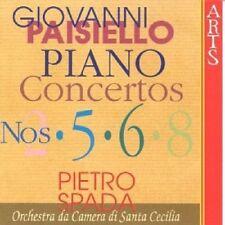 ST.CECILIA CAMERA ORCHESTRA/SPADA - KLAVIERKONZERTE 2,5,6,8  CD NEW+ PAISIELLO