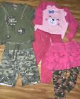 * AdOrAbLe girls 12 months lot EUC Camo Hunting Pink SHIPS FREE!!