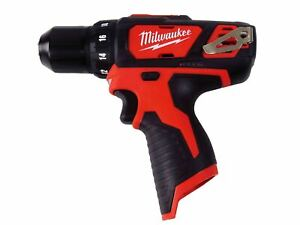 "New Milwaukee 2407-20 12V Li-Ion 3/8""  Cordless Drill/Driver (Bare Tool)"