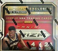 2020-21 Panini Prizm NBA Basketball Factory Sealed Retail 24 Pack Box