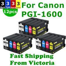 12 Canon PGI1600XL PGI 1600XL ink Cartridge For MB2060 MB2360 MB2760 MB2160