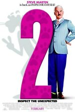 STEVE MARTIN PINK PANTHER 2 27X41 AUTHENTIC DOUBLE SIDED THEATRE POSTER