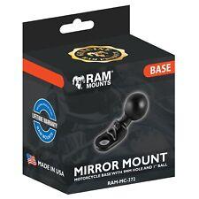 Ram Mounts Motorbike Mirror / Pinchbolt Mount - 1 Inch  Camera - 9mm Hole