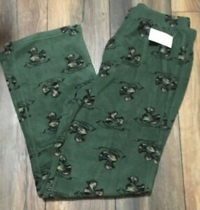 Camo Ducks Camouflage Super Soft & Comfy Fleece Pants Soft & Warm Lounge Pant PJ
