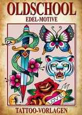 Oldschool Tattoo Vorlagen Buch Sketchbook mit reichlich Motiven Old School