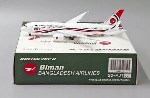 JC Wings 1:400 Biman Bangladesh Airlines B787-8 Dreamliner S2-AJT Diecast Model