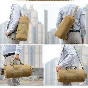 Men Tactical Duffle Bag Gym Pack Military Molle Shoulder Bags Sports Handbag