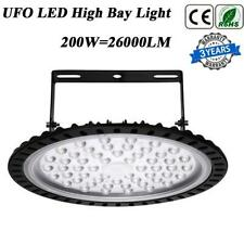 New listing 200W Ufo Led High Bay Light 26000Lm Commercial Factory Warehouse Garage Lighting